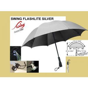 Deštník SWING FLASHLITE silver UV Protection